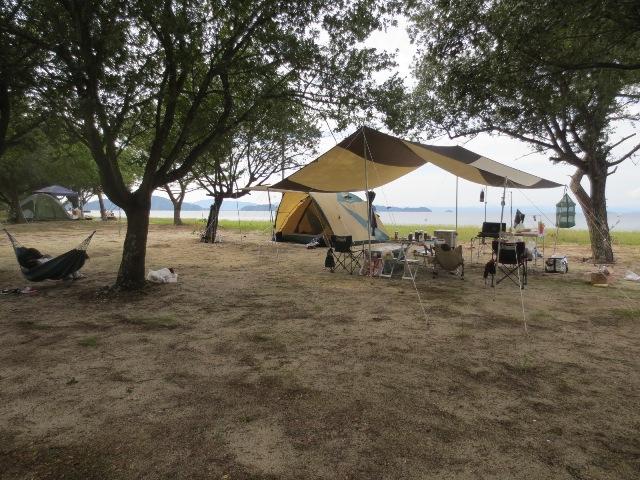 今年最後のキャンプ