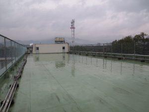 安田小学校 屋上改修工事